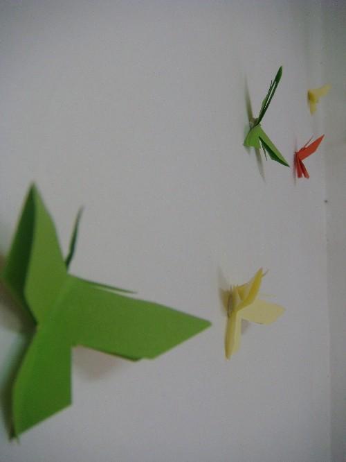 Origami flutter