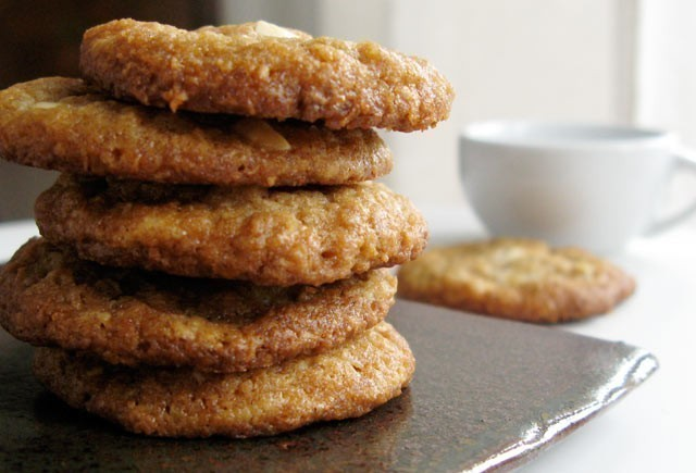 Coconut Five Spice White Chocolate cookies